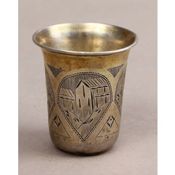 Silver cup/glass