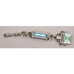 Atslēgu piekariņš ar krāsainu emalju