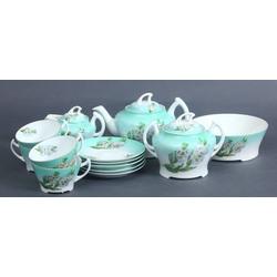 Porcelāna tējas/kafijas servīze 4 personām