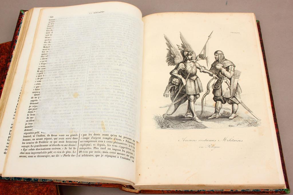 La Pologne historique , Litteraire, monumentale et Pittoresque 3 grāmatas