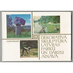 I.Dāvidsone, Dekoratīvā skulptūra Latvijas parku un dārzu ainavā