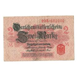 2 markas 1914