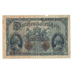 5 markas 1914