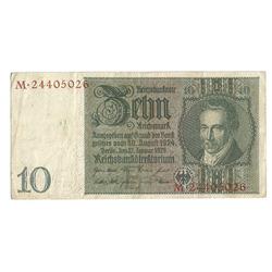 10 reiha markas 1924