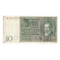 10 reiha markas 1929