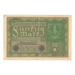 50 reiha markas 1919