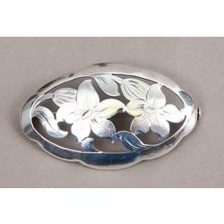 Art Nouveau серебро броши