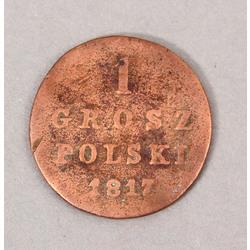 1 groszy polski 1817