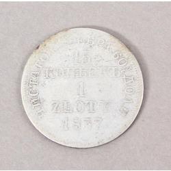1 zloty 1837