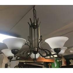 Jūgendstila griestu lampa