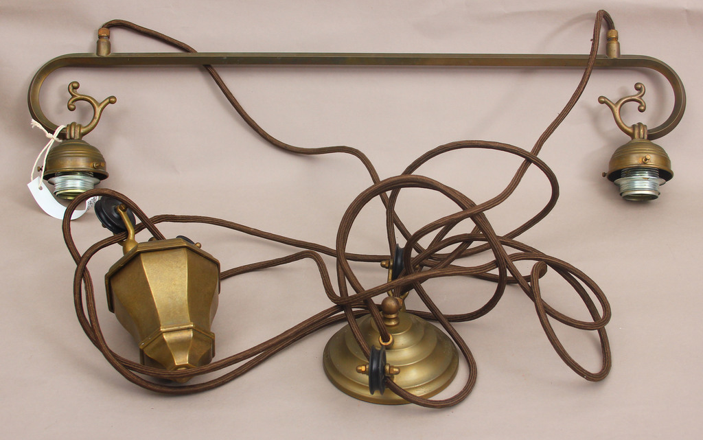 Art Nouveau Ceiling Light (Adjustable Height)
