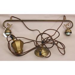 Jūgendstila griestu lampa ar atsvaru (regulējams augstums)