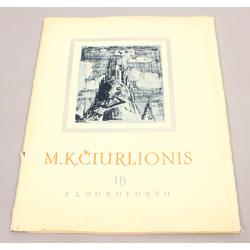 M.K.Čiurlionis, Reprodukciju albums