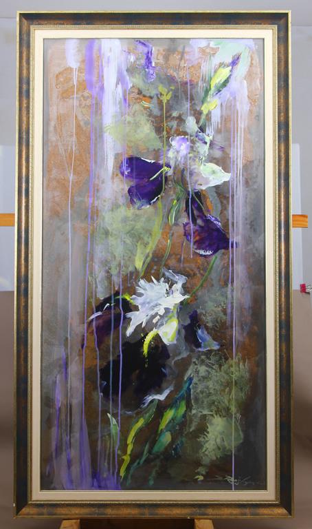 Flying irises