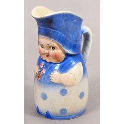 Fajansa piena krūka