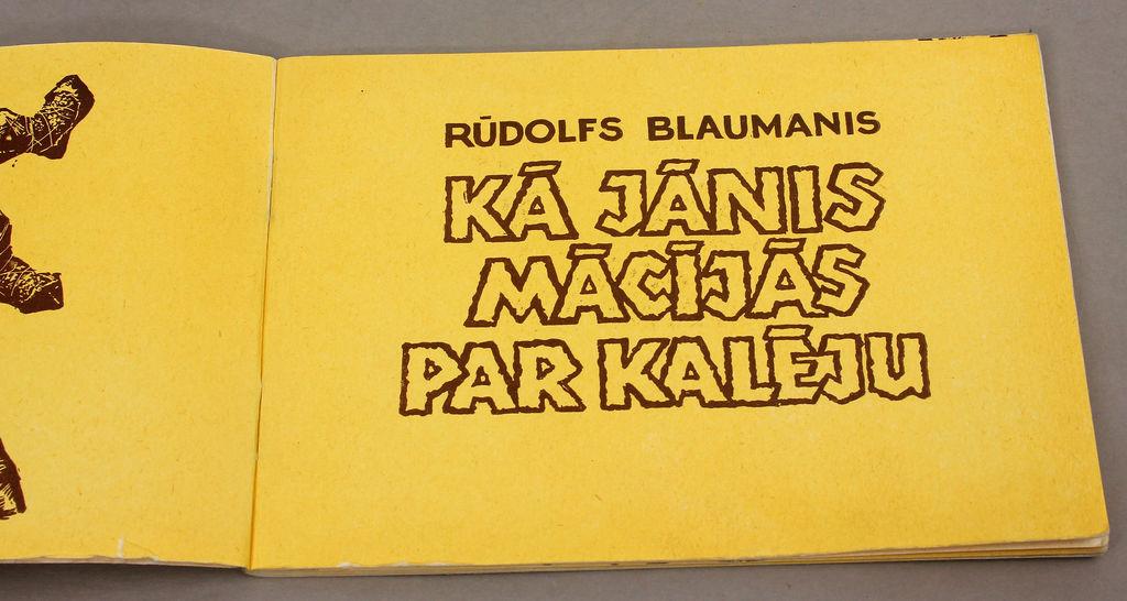 Rūdolfs Blaumanis, Kā Jānis mācījās par kalēju