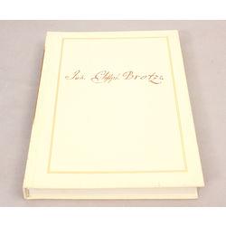 Johans Kristofs Broce. Zīmējumi un apraksti