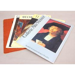 5 reprodukciju albumi - Albert Ebert, Galerie Alte Meister(2 gab.), Феофан Грек, Иванов