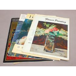 4 reprodukciju albumi - Flower Painting, Картины Государственного Эрмитажа, Буше, Иван Глазунов