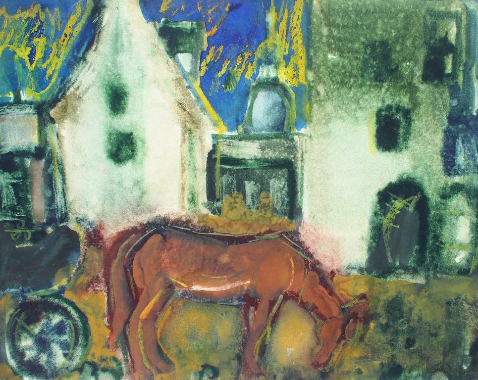 Zirgs pilsētā