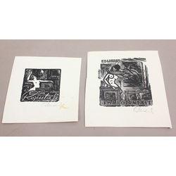 2 ex-libri - Irma Rozentāle