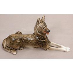 Porcelāna figūriņa Vācu aitu suns
