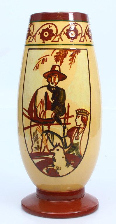 Keramikas vāze pēc R.Sutas meta