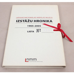 Latvijas Nacionālās Mākslas muzejs. Izstāžu hronika. 1905-2005