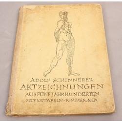 Adolf Schinnerer, Aktzeichnungen aus funf jahrhunderten