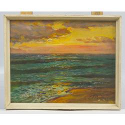 Saullēkts jūrā