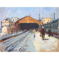 Rīgas dzelzceļa stacijas perons