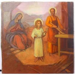 Svētā ģimene (Skice gleznai SV.Magdalēna baznīcai)