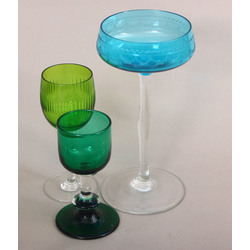 Stikla glāzes (3 gab.)