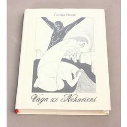 Cecīlija Dinere, Vaga uz nekurieni( ar autora autogrāfu)