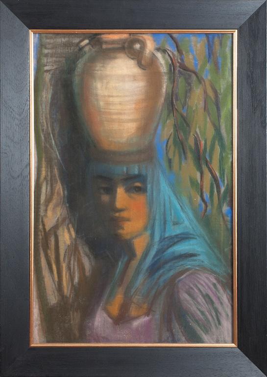 Sieviete ar krūku