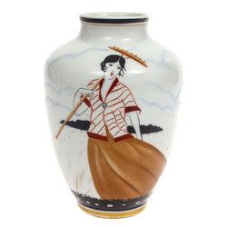 Burtnieks porcelain vase