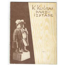 Koktēlnieka Krišjāņa Kugras darbu ceļojošāš izstādes katalogs