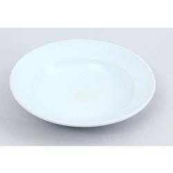 Porcelāna zupas šķīvis ar zīmogu