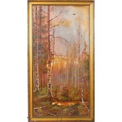 Kopija pēc Grāfa Muravjova - Meža ainava