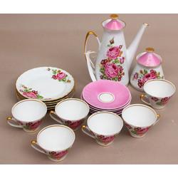 Porcelāna tējas/kafikas servīze 6 personām