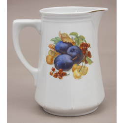 Porcelain juice pitcher