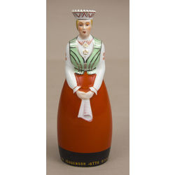 Porcelain decanter