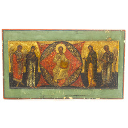 Icon of 5 saints