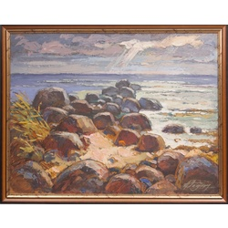 Akmeņainā jūrmala