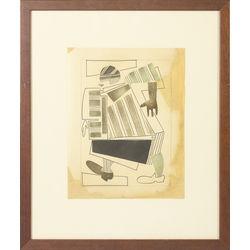 Cubistic woman
