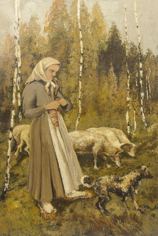 Cowherd girl
