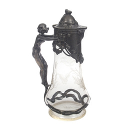 Crustal decanter