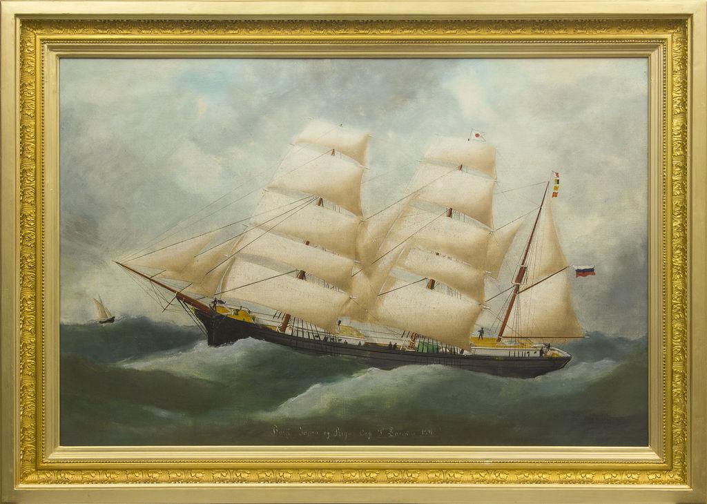 Kapteiņa glezna - Burinieks