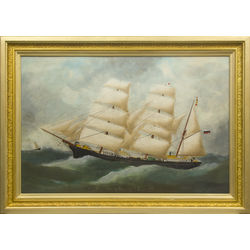 Captain painting - Sailing boat