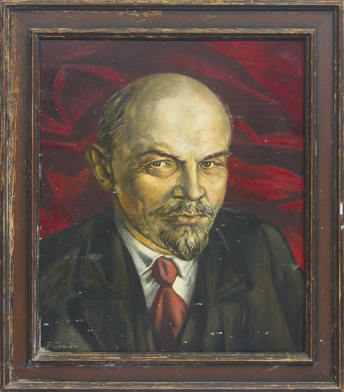 V.I.Ļeņina portrets